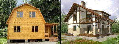 Какой дом выбрать каркасный или из бруса?