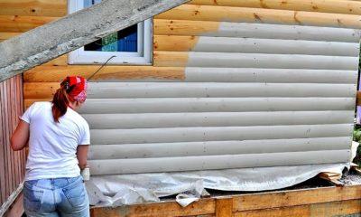 Чем покрасить блок хаус снаружи?