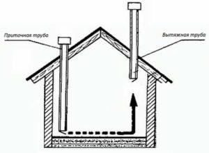 Грамотное оборудование вентиляции в сарае