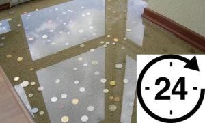 Сколько сохнет наливной пол?