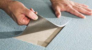 Монтаж плиточного ковролина и правила выбора