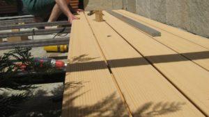 Виды террасной доски из лиственницы, способы монтажа и стоимость