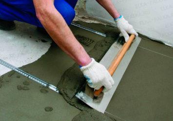 Какой цемент лучше для стяжки?