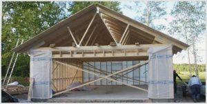 Строим гараж дешево и быстро – подробная технология и рекомендации
