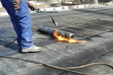 Газовая горелка для ремонта мягкой кровли