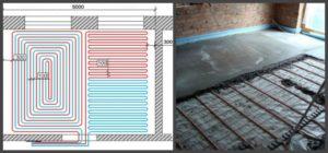 Водяные теплые полы, основы конструкции и монтажа