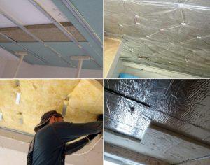 Методы звукоизоляции потолка и материалы для шумоизоляции
