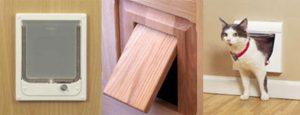 Дверца для кошки – делаем проем в межкомнатной и входной двери своими руками
