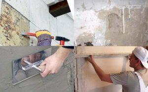 Выравнивание стен в ванной под плитку – методы