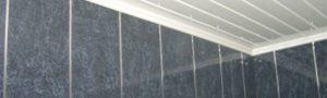Как обшить ванную комнату пластиковыми панелями