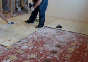 Ремонт пола в квартире – реставрация деревянного основания