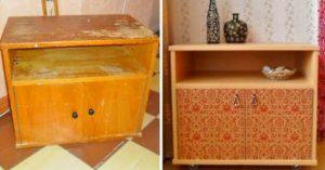 Как обновить старую полированную мебель – пошаговая инструкция для новичков