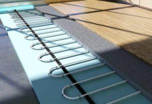 Выбор и монтаж подложки под ламинат для укладки теплого водяного пола