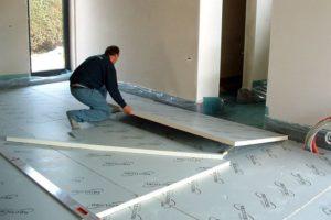 Чем можно утеплит бетонный пол: материалы и технология утепления