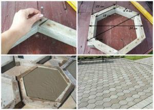 Тротуарная плитка своими руками – технология изготовления в домашних условиях