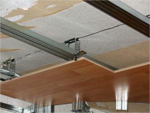 Методы крепления ламината на потолок и необходимые инструменты для монтажа