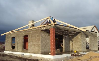 Строительство одноэтажного дома своими руками поэтапное строительство