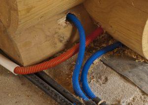 Гофра для проводов – как смонтировать