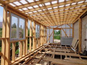 Пристройка к дому – как быстро и недорого сделать