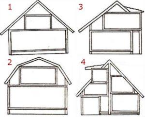 Мансардные крыши – спроектируем и построим самостоятельно