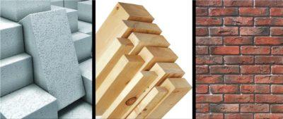 Какой строительный материал лучше для строительства дома?