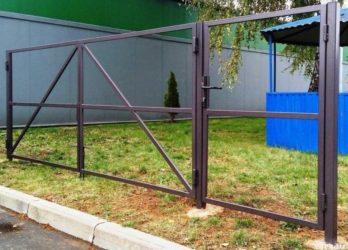 Строительство ворот и калитки