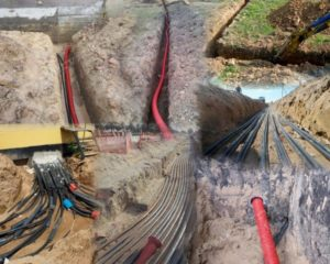 Прокладка кабеля под землей – создание надежной силовой линии для дачи и частного дома