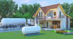 Автономное газоснабжение частного дома от баллонов – насколько удобно