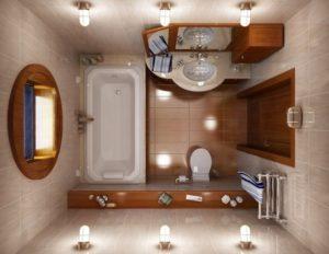 Ванная комната в частном доме – как обустроить с нуля
