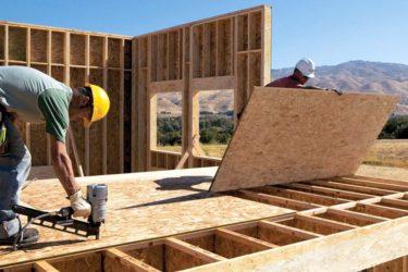 Применение ОСП в строительстве