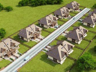 Строительство дома на двух смежных земельных участках