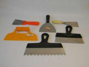 Шпатели для шпаклевки – виды, предназначение, выбор инструмента