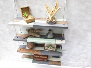 Оригинальные полки – создаем шедевры из дерева, стекла