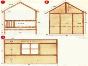 Детский домик своими руками – как спроектировать и построить
