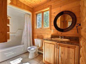Ванная комната в деревянном доме – без проблем