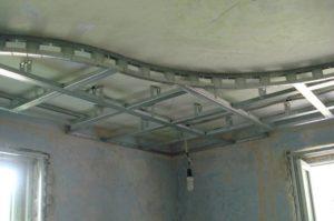 Как сделать гипсокартонный потолок своими руками и видео инструкция