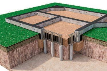 Свайно ростверковый фундамент технология строительства