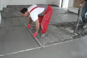 Сколько стоит залить бетонные полы и сравнение цен
