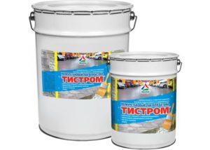 Лак для бетона на полиуретановой основе