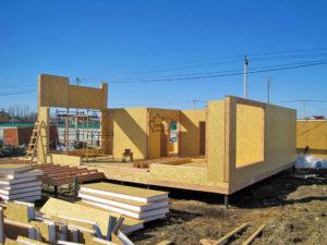 СИП-панели – востребованный материал для строительства домов