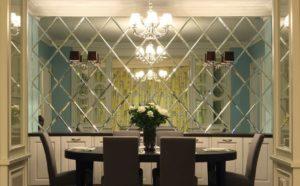 Изготовление зеркальной плитки из стекла