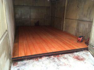 Самостоятельный ремонт пола в гараже