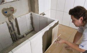 Как самостоятельно обложить ванну плиткой – инструкция для мастеров-самоучек