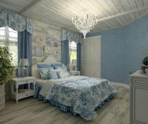 Спальня в стиле прованс – французский шарм в интерьере