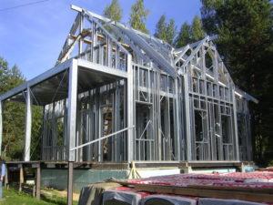 Дом из металлокаркаса – как построить теплое и долговечное жилище